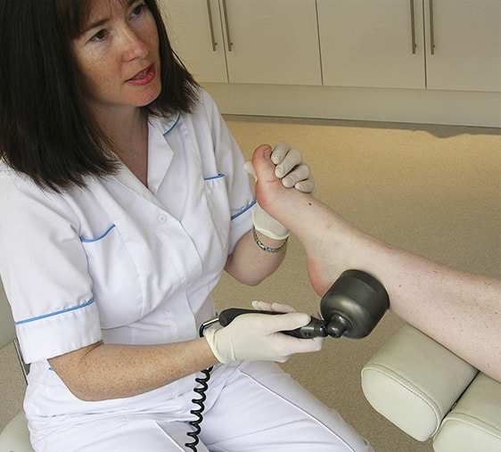 photo of low level laser therapy